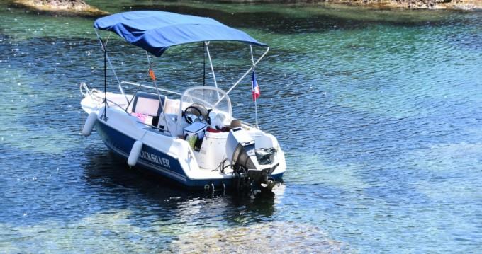 Motorboot mieten in Mandelieu-la-Napoule - Quicksilver Quicksilver 500 Commander