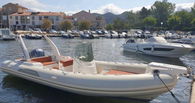 Schlauchboot mit oder ohne Skipper Capelli mieten in Saint-Florent