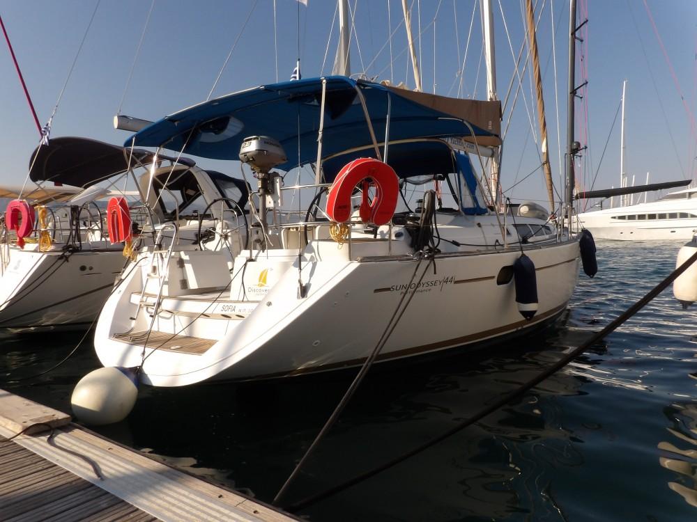 Segelboot mieten in Kontokali - Jeanneau Sun Odyssey 44i