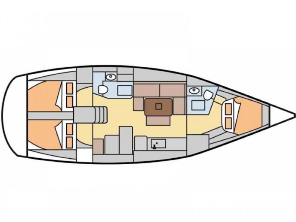Segelboot mieten in Nigrán - Dufour Dufour 405 Grand Large