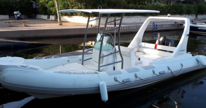 Vermietung Schlauchboot EOS mit Führerschein