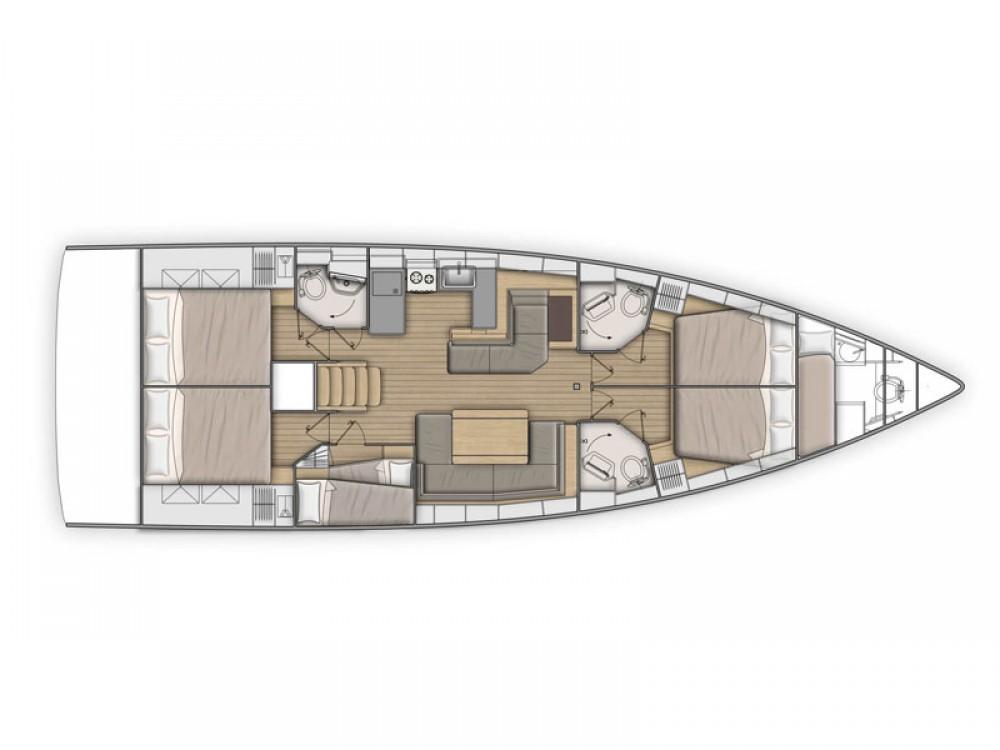 Yacht-Charter in Balearische Inseln - Bénéteau Oceanis 51.1 auf SamBoat