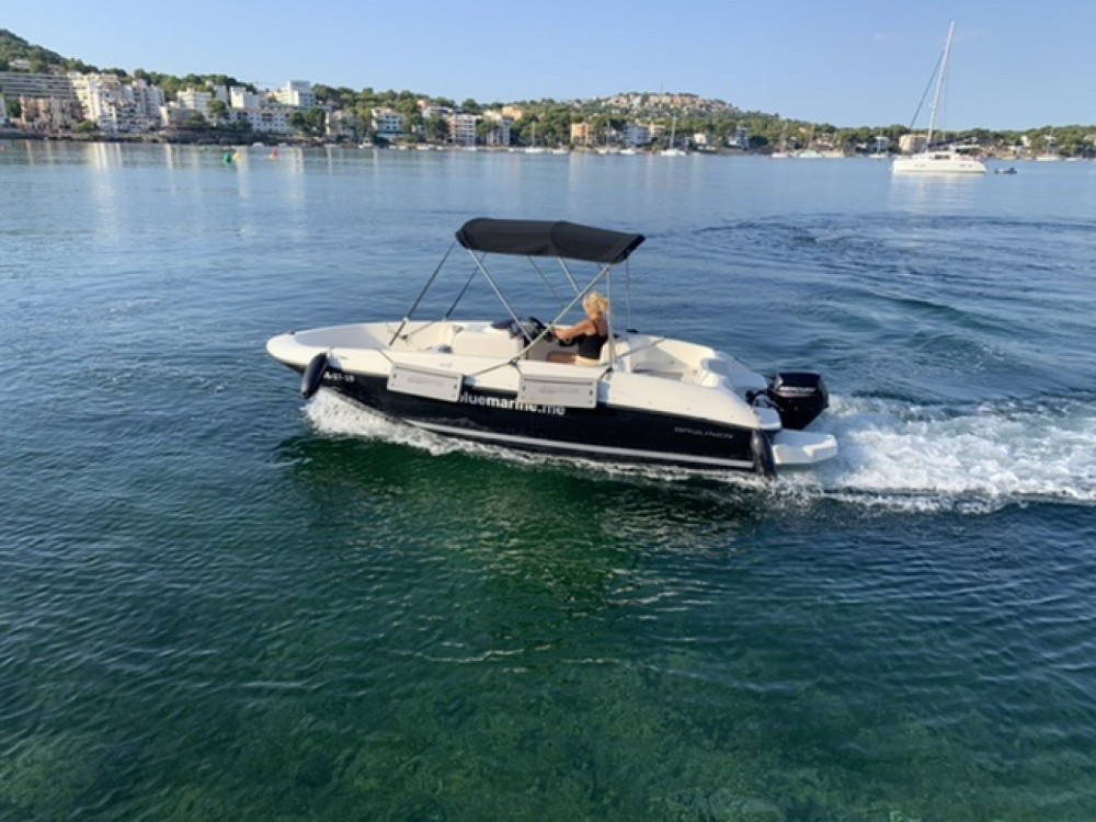 Motorboot mieten in Calvià - Bayliner element E 5
