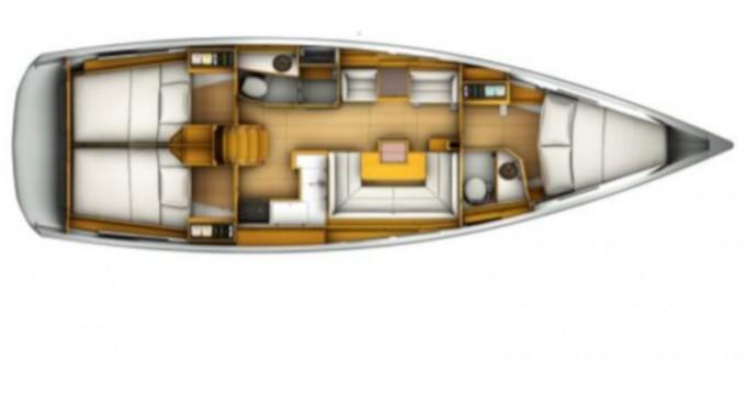 Jeanneau Sun Odyssey 419 zwischen Privatpersonen und professionellem Anbieter Palma de Mallorca