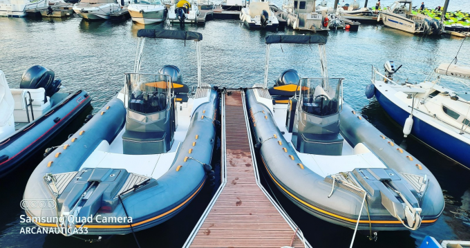 Schlauchboot mieten in Arcachon - Capelli Tempest 700 série limitée Luxe