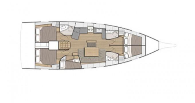 Bootsverleih Zadar günstig Oceanis 46.1