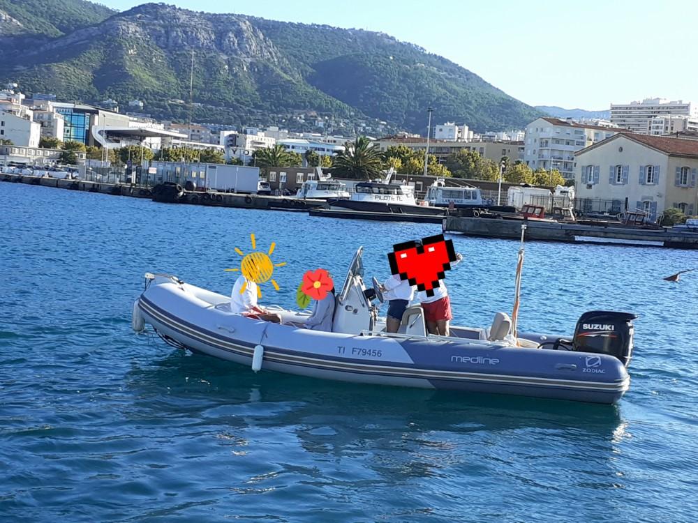 Schlauchboot mieten in Toulon - Zodiac Medline 580