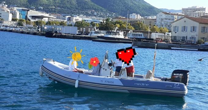 Zodiac Medline 580 zwischen Privatpersonen und professionellem Anbieter Toulon