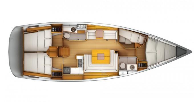 Yacht-Charter in Kaštel Gomilica - Jeanneau Sun Odyssey 449 auf SamBoat
