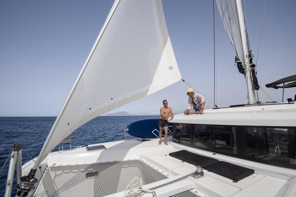 Katamaran mit oder ohne Skipper Lagoon mieten in Trapani