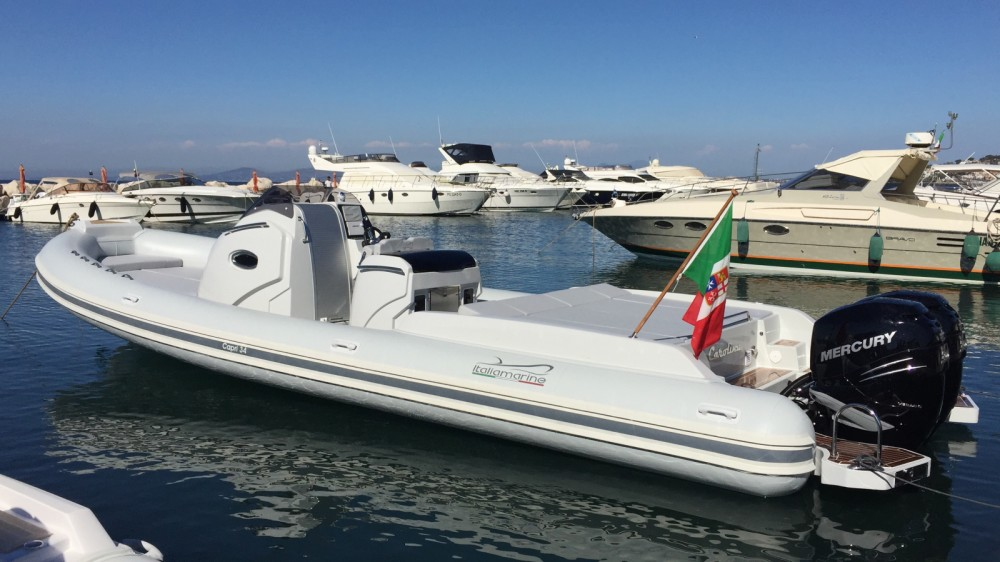 Schlauchboot mit oder ohne Skipper Italiamarine mieten in San Felice Circeo