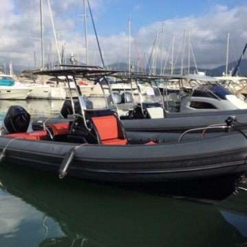 Schlauchboot mieten in Cogolin - Sea Water Smeralda 250