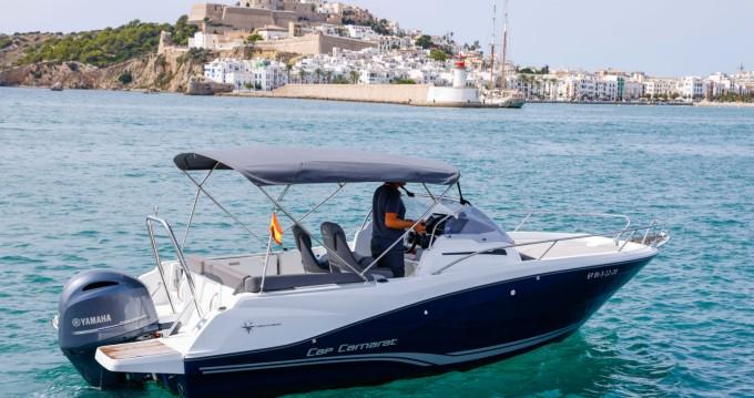 Bootsverleih Ibiza Town günstig Cap Camarat 6.5 WA Serie 3