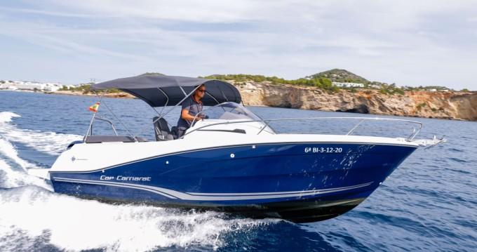 Motorboot mieten in Ibiza Town - Jeanneau Cap Camarat 6.5 WA Serie 3