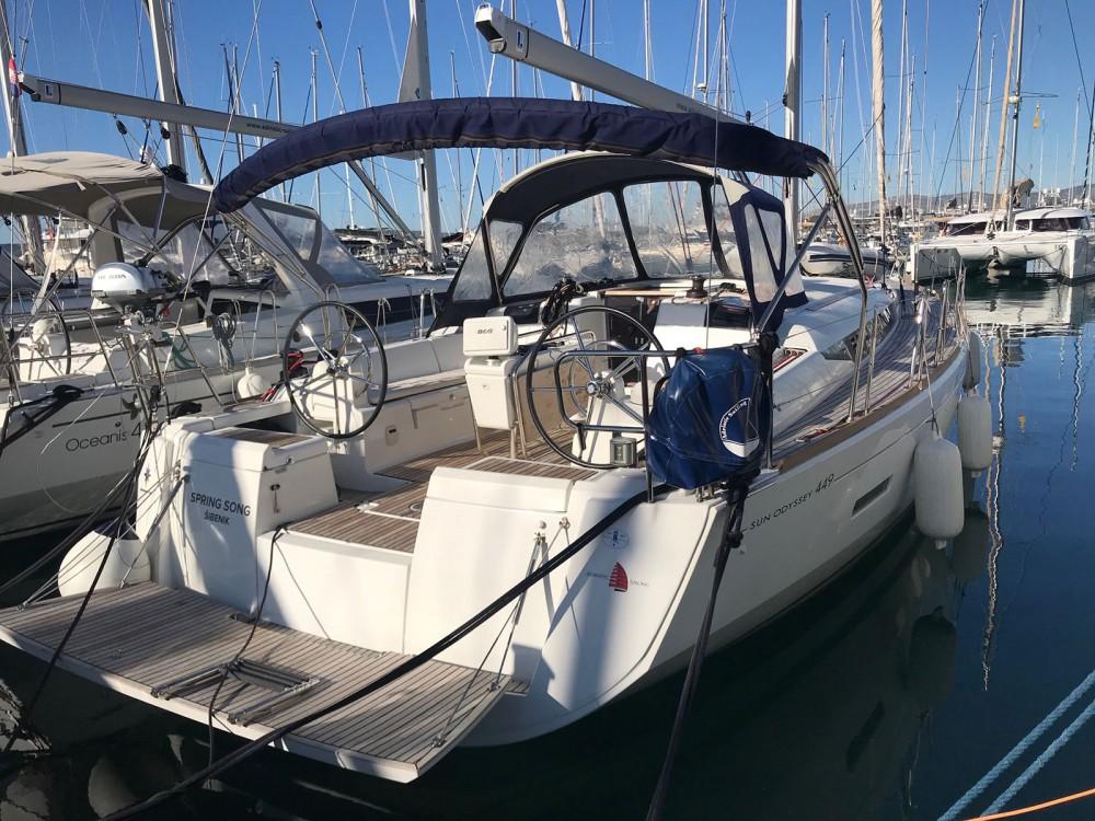 Bootsverleih  günstig Sun Odyssey 449 owner version