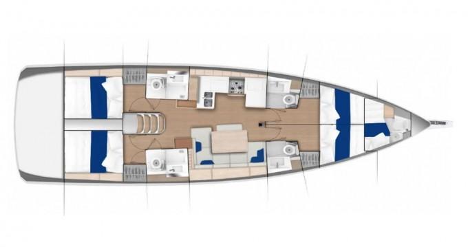 Segelboot mieten in Castellammare di Stabia - Jeanneau Sun Odyssey 490