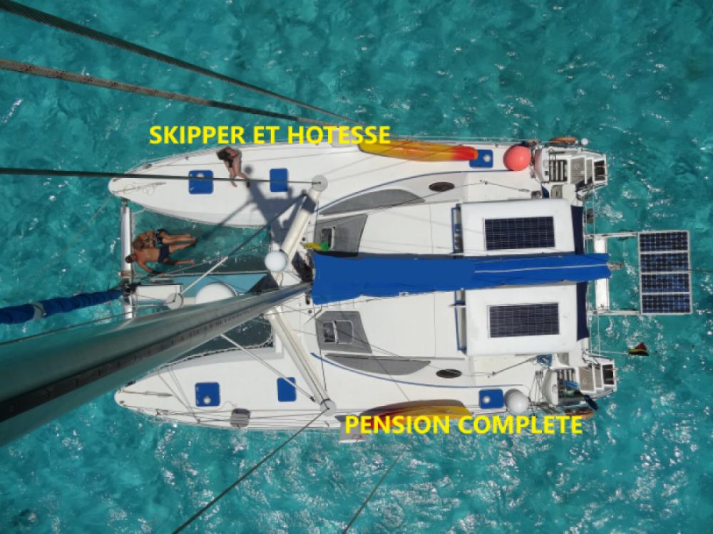 Bootsverleih Le Marin günstig Catana 411