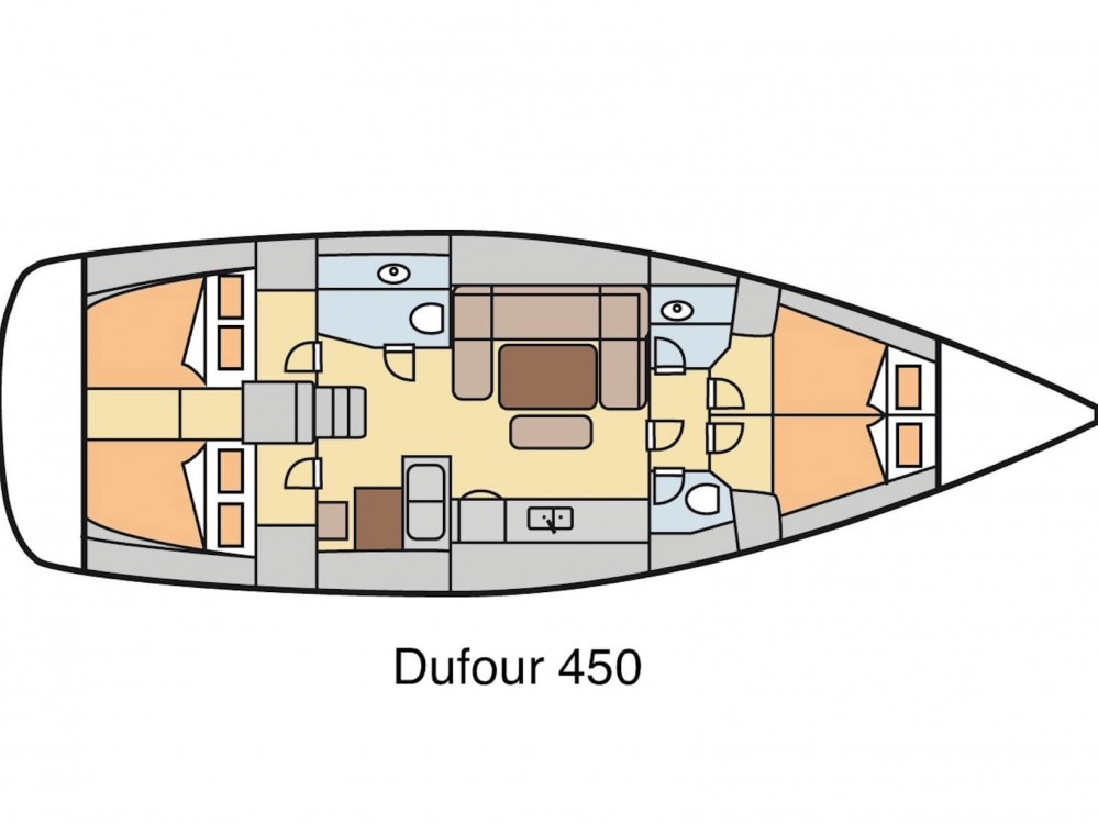 Segelboot mieten in Fethiye - Dufour Dufour 450 GL