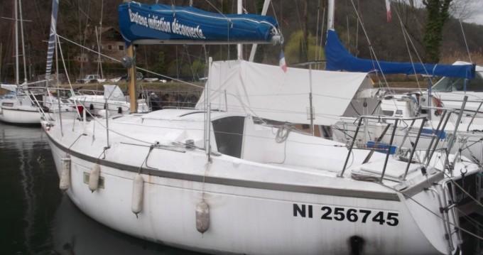 Segelboot mieten in Conjux zum besten Preis