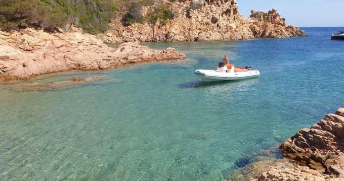 MV Marine 18 technology zwischen Privatpersonen und professionellem Anbieter Olbia