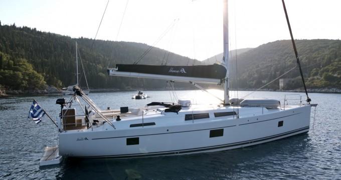 Yacht-Charter in Nikiána - Hanse 508 auf SamBoat