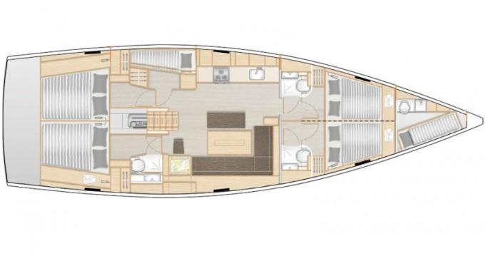 Yacht-Charter in Lávrio - Hanse Hanse 508 auf SamBoat