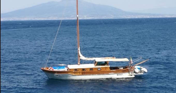 Segelboot mit oder ohne Skipper Motorsailer Di pinto mieten in Monopoli