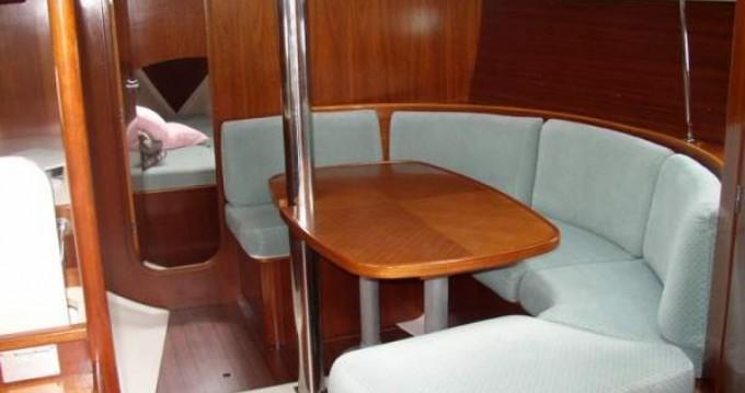 Bénéteau Oceanis 351 zwischen Privatpersonen und professionellem Anbieter Villeneuve-Loubet