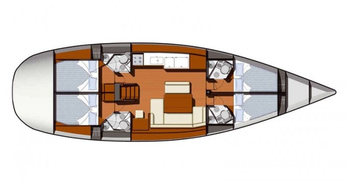 Yacht-Charter in Athen - Jeanneau Sun Odyssey 49 auf SamBoat