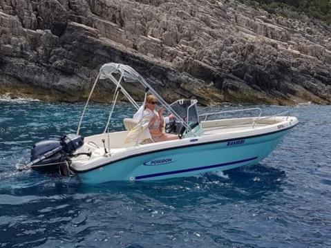 Bootsverleih Poseidon Azzura 500  Zakynthos (Island) Samboat