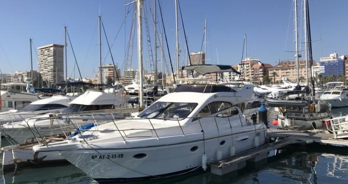 Bootsverleih Alicante günstig Majestic 420