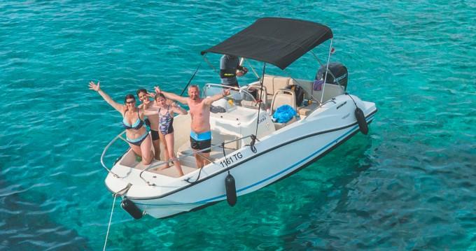 Bootsverleih Quicksilver Activ 605 Open Split Samboat
