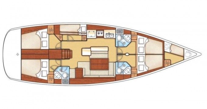 Bootsverleih Tortola günstig Beneteau 54.5