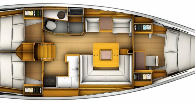 Segelboot mit oder ohne Skipper Jeanneau mieten in St. Martin