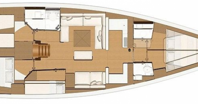 Segelboot mieten in Le Marin - Dufour Dufour 520 Grand Large