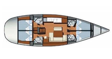 Yacht-Charter in Skradin - Jeanneau Sun Odyssey 49i auf SamBoat