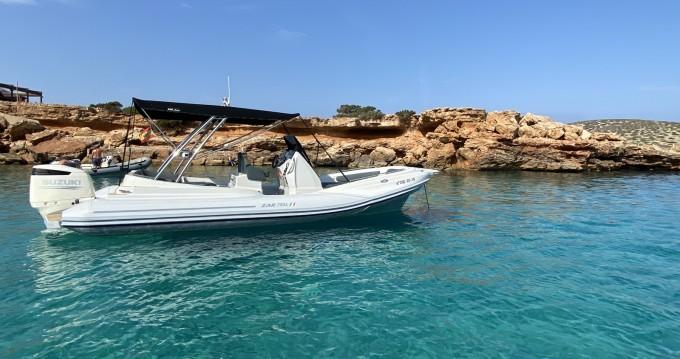 Schlauchboot mieten in Sant Antoni de Portmany - Zar Zar 79 SL