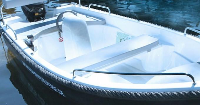 Vermietung Motorboot Alfa mit Führerschein