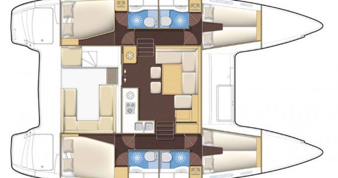 Bootsverleih Lagoon Lagoon 400 S2 Palma de Mallorca Samboat