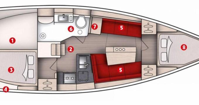Bootsverleih Hanse Hanse 348 Port du Crouesty Samboat