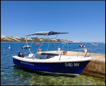 Motorboot mit oder ohne Skipper Adria mieten in Stara Novalja