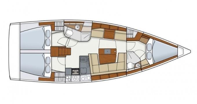 Segelboot mit oder ohne Skipper Hanse mieten in Ibiza Town