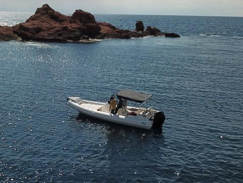 Schlauchboot mit oder ohne Skipper Nuova Jolly mieten in Saint-Raphaël