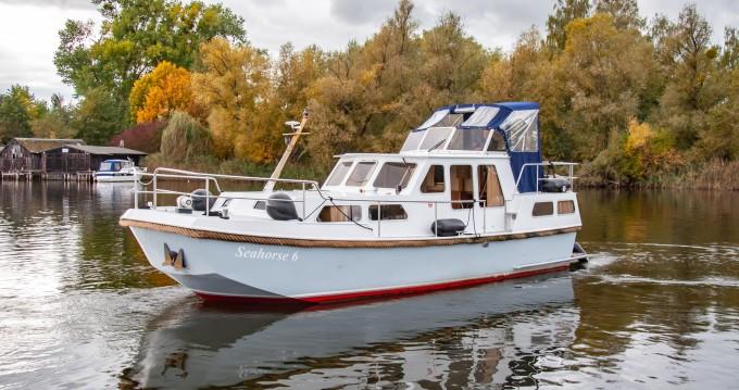 Vermietung Hausboot Rogger mit Führerschein