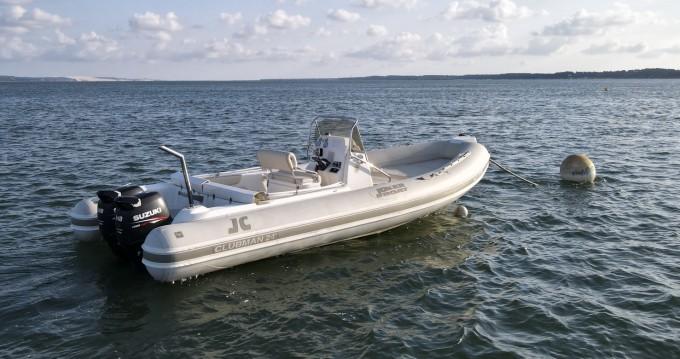 Ein Joker Boat Clubman 24 mieten in Grand Piquey
