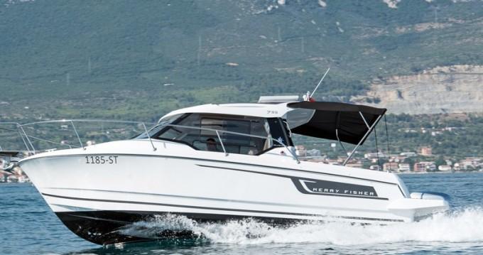 Motorboot mieten in Kaštel Gomilica - Jeanneau Jeanneau Merry Fisher 795