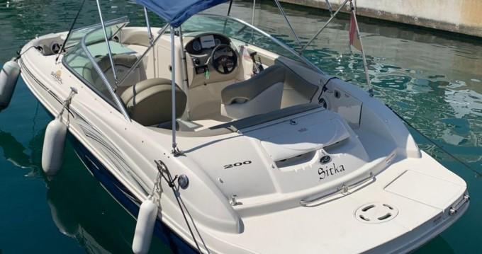 Motorboot mieten in Puerto Deportivo de Marbella - Sea Ray 200 SD