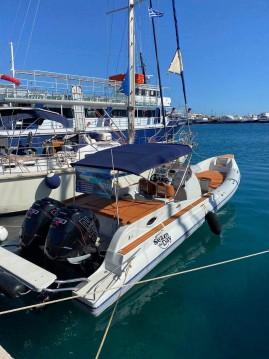 Schlauchboot mit oder ohne Skipper Skipper mieten in Kissamos