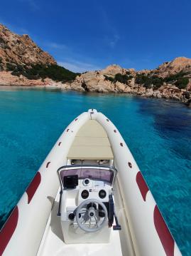 Vermietung Schlauchboot Mariner mit Führerschein