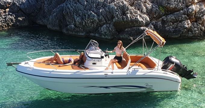 Bootsverleih Ranieri Shadow 23 Tsilivi Samboat